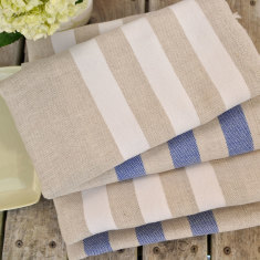 Linen hand towels (set of two)