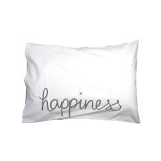 Happiness pillowcase