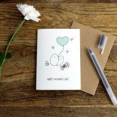 Mother's Day greeting card (pack of 6)