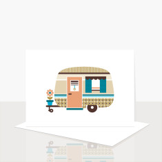 Happy Camper Greeting Card (Pack of 8)
