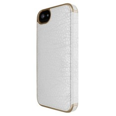 Adopted leather folio case for iPhone 5/5S