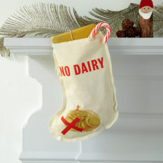 Food allergies Christmas stocking