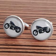 Harley Sportster motorcycle cufflinks
