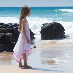 Hattie dress in white