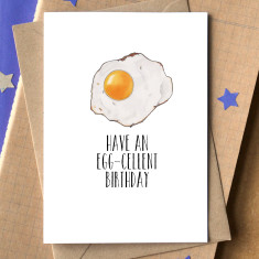 Have an egg-cellent birthday card