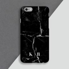 Black Marble Personalised Phone Case