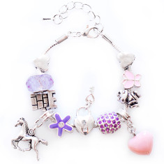 Rapunzel charm bracelet
