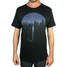 Nature Umbrella Charcoal Men's Tee