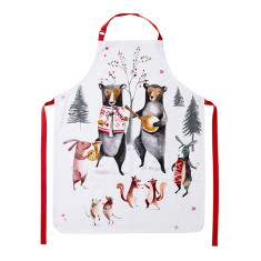 Animal Jamboree Cotton Apron