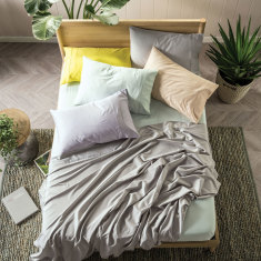 Nara bamboo sheet set in various colours