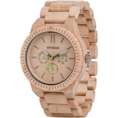 Kappa Beige Wood Watch