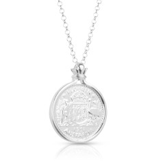 Australian Florin New Shield Pendant