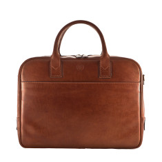The Calvino Luxury Leather Laptop Bag For Macbook