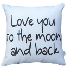 Love you to the moon kid's cushion cover
