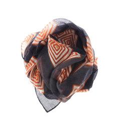 Banjara chocolate cashmere square scarf