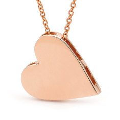 Gold king of hearts necklace