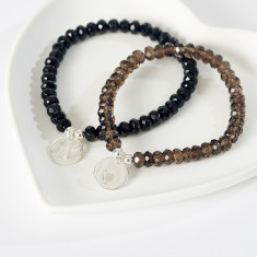 Heavenly semi-precious stone bracelet