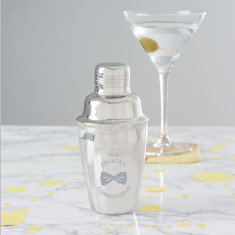 Personalised Mini Cocktail Shaker For Dad