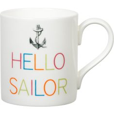 Hello sailor mug