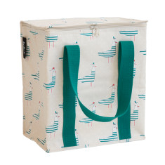 Insulated Cooler bag in Seagull print