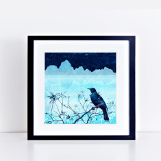 evening over the alps limited fine art giclee print