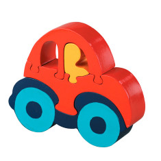 Wooden car jigsaw puzzle