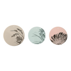 Sooji deco plates (set of 3)