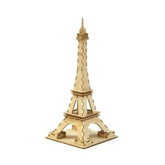 Wooden Puzzle - Eiffel Tower