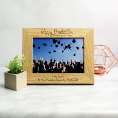 Personalised Graduation Photo Frame