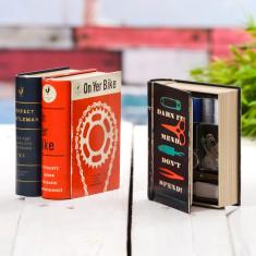 Book Shaped Metal Tin Kit