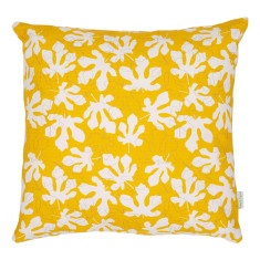 Fig Leaves cushion cover