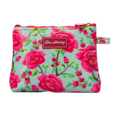 Small Cosmetic Bag in Alexandra Sage Print