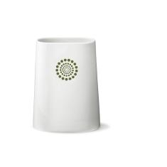 Hay Back green-print vase