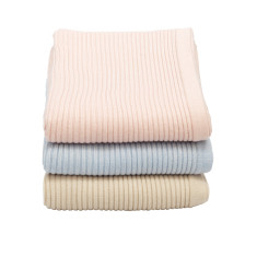 Cashmere-Merino rib knit blankets (various colours)