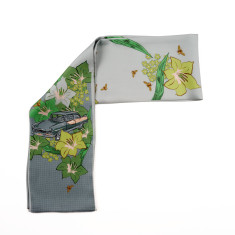 Car silk neck tie