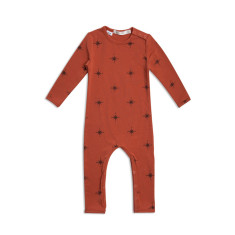 North south long sleeve jumpsuit