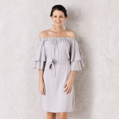 Sevilla Dress In Grey