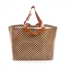 Grid Beach Bag