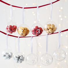 Fill Your Own Bauble Advent Calendar