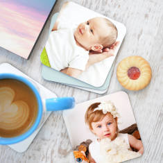 Personalised Photo Coasters (Set of 4)