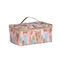 Bathroom bag in Summer Forest by Leah Bartholemew Print