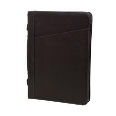 Noto Italian leather compendium in black
