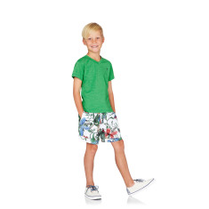 Boys Jungle Print Boardshorts