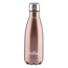 Reusable Drink Bottle Rose Gold