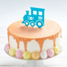 Personalised Train Birthday Cake Topper