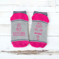 Do Not Disturb Personalised Wine Socks