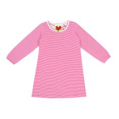Raspberry stripe nightie