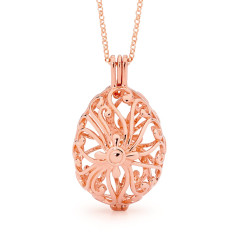 Tranquility Rose Gold Perfumed Necklace