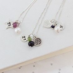 Celebrate 21st Birthday Necklace