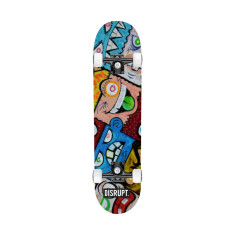 Street Graffiti Skateboard deck